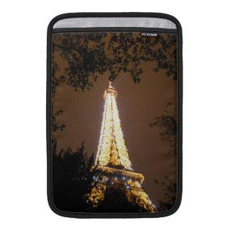 Paris, France - Eiffel Tower at Night MacBook Sleeves