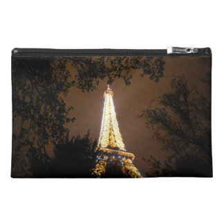 Paris, France - Eiffel Tower at Night Travel Accessories Bags