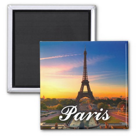 Paris, France - Eiffel Tower Magnet