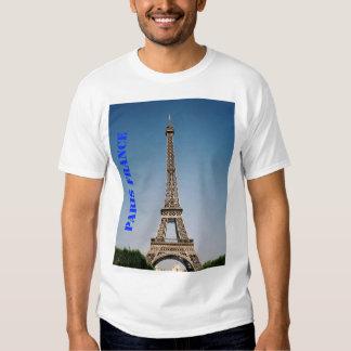Paris France Eiffel Tower Men's Basic T-Shirt