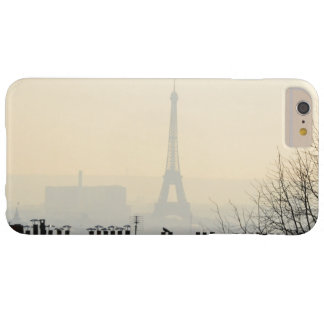 Paris France Eiffel tower on a foggy day Barely There iPhone 6 Plus Case
