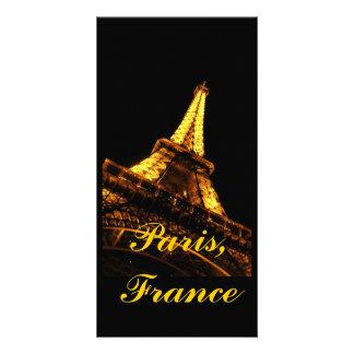Paris, France, Eiffel Tower, Photo Card