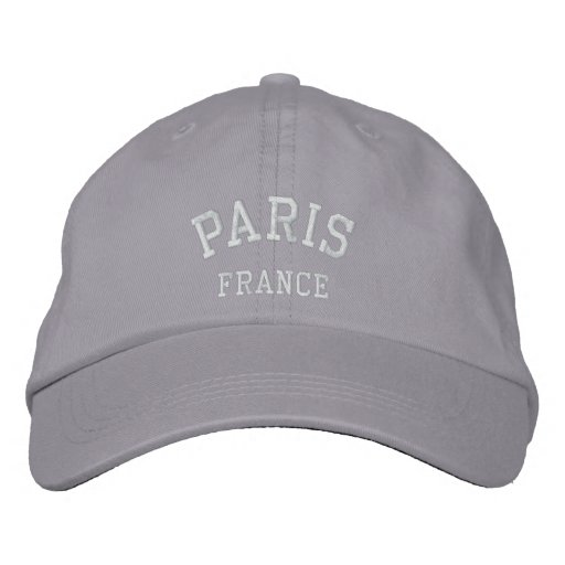 PARIS, FRANCE EMBROIDERED HATS