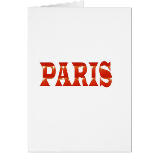 PARIS, FRANCE :  French, Fashion, Travel,Food,Cine Card