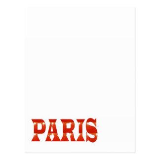 PARIS, FRANCE :  French, Fashion, Travel,Food,Cine Postcard
