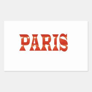PARIS, FRANCE :  French, Fashion, Travel,Food,Cine Stickers