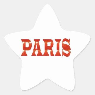 PARIS, FRANCE :  French, Fashion, Travel,Food,Cine Star Stickers