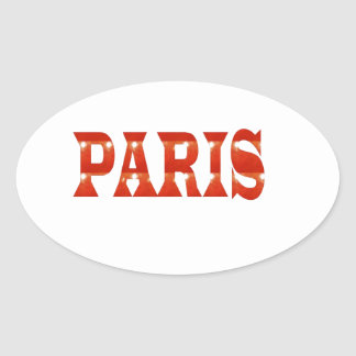 PARIS, FRANCE :  French, Fashion, Travel,Food,Cine Sticker