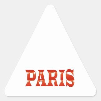 PARIS, FRANCE :  French, Fashion, Travel,Food,Cine Triangle Sticker
