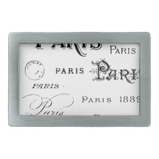 Paris France Gifts and Souvenirs Belt Buckle