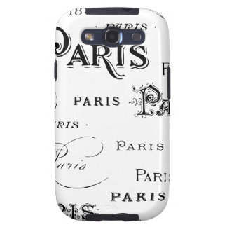 Paris France Gifts and Souvenirs Samsung Galaxy SIII Case