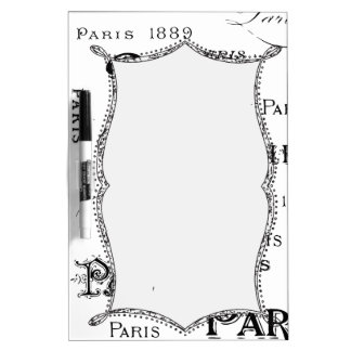 Paris France Gifts and Souvenirs Dry-Erase Board