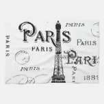 Paris France Gifts and Souvenirs Hand Towel