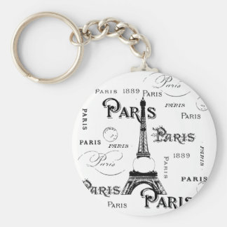 Paris France Gifts and Souvenirs Keychain