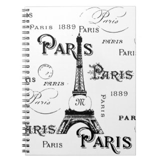Paris France Gifts and Souvenirs Note Books