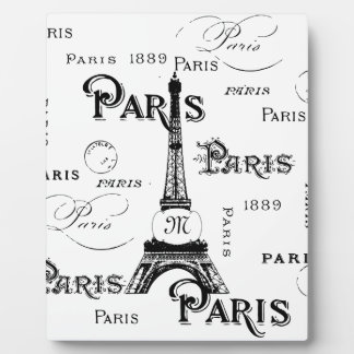 Paris France Gifts and Souvenirs Plaque