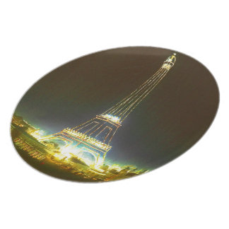 Paris France Gifts and Souvenirs Party Plate