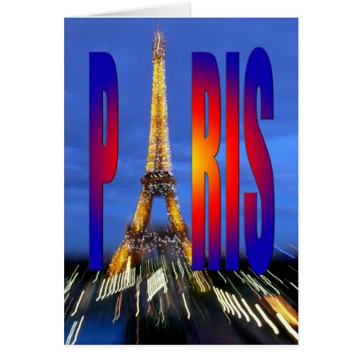 Paris France Greeting Cards