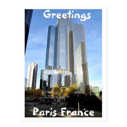 Paris France Greeting (Mojisola A Gbadamosi) Postcard