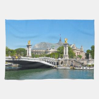 Paris, France Hand Towels