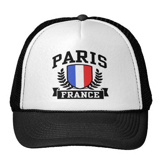 Paris France Mesh Hats