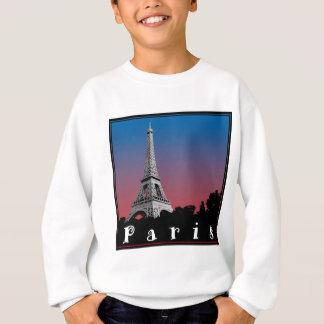 Paris france love french baguette eiffel more sweatshirt