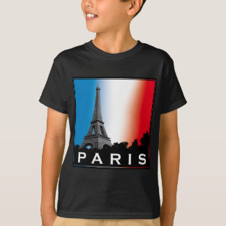 Paris france love french baguette eiffel more T-Shirt