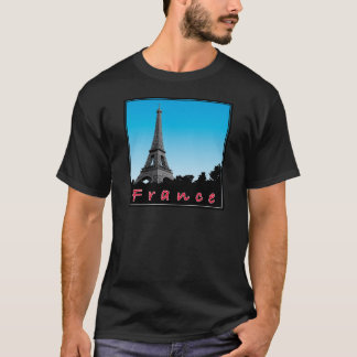Paris france love french baguette eiffel more T-Shirt