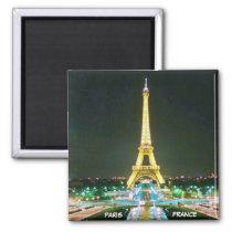 PARIS, FRANCE MAGNET