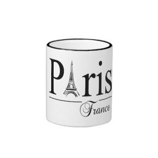 Paris France mug - choose style & color