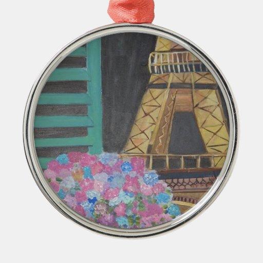 Paris, France Ornament