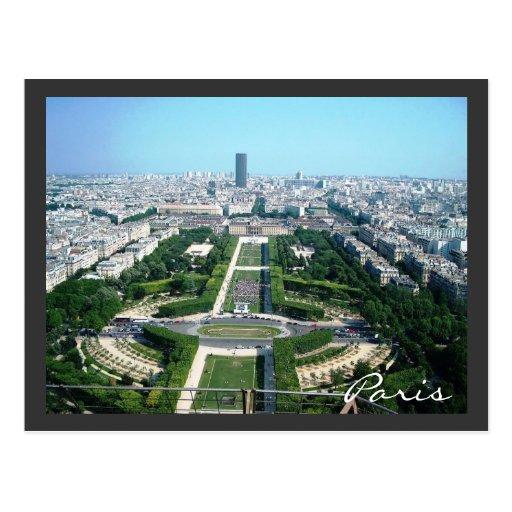 Paris, France Postcard
