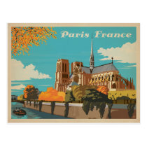Paris, France Postcard