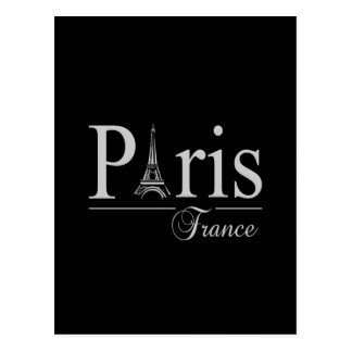 Paris France postcard customize
