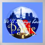 PARIS France POSTER Print