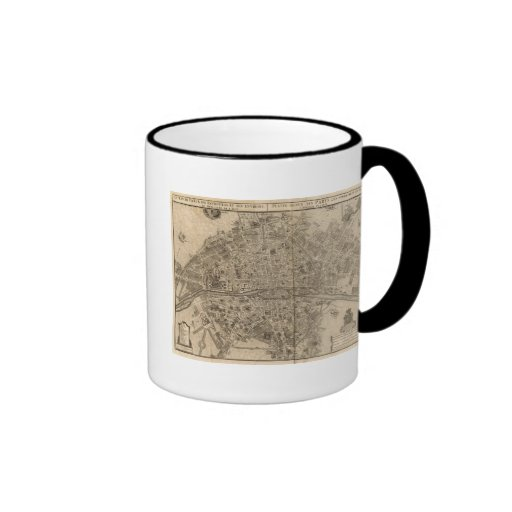 Paris France Ringer Mug