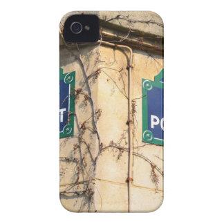 Paris France Rue Poulbot Street signs Case-Mate iPhone 4 Cases