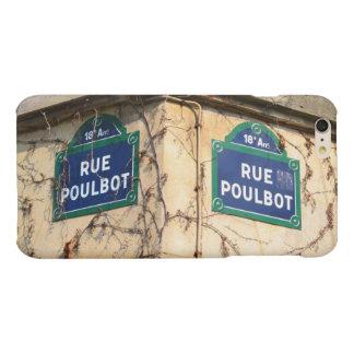 Paris France Rue Poulbot Street signs Matte iPhone 6 Plus Case