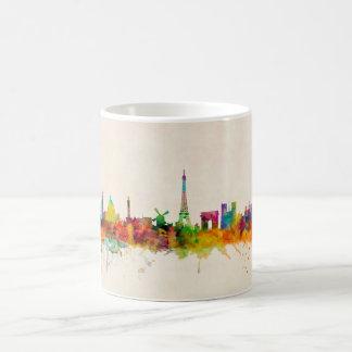 Paris France Skyline Cityscape Coffee Mug