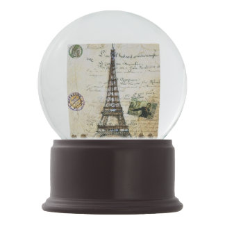 Paris France Snow Globe Gift
