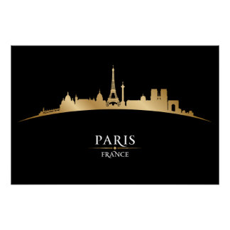 Paris, France - SRF Poster