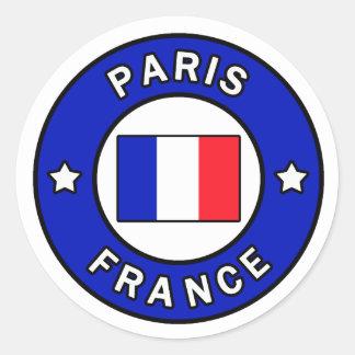 Paris France Sticker