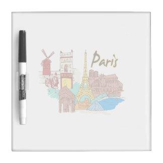 paris france travel image.png Dry-Erase board