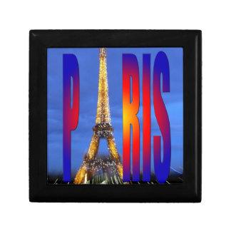 Paris France Trinket Boxes