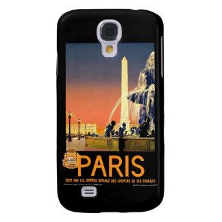Paris France Vintage Galaxy S4 Cover