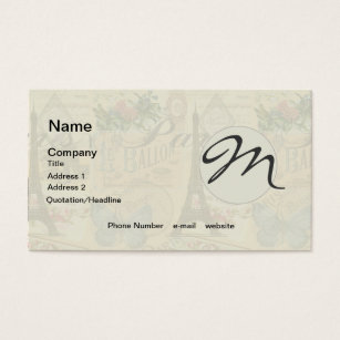Paris france business cards templates zazzle paris france vintage travel collage business card colourmoves Image collections