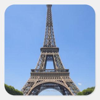 París, Francia 3 Pegatina Cuadrada