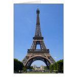 París, Francia 3 Tarjeta De Felicitación