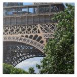 París, Francia Azulejo Cuadrado Grande