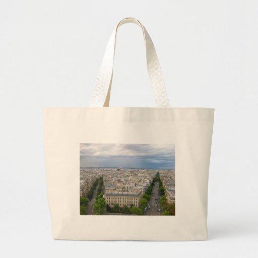 París Francia Bolsa Tela Grande